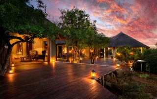 Lush Game Lodge - Veranda