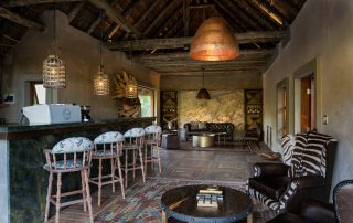 Lush game lodge - Bar area