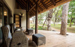 Amani-Simbavati - Room deck