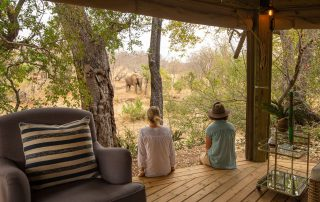 Klaserie-sands-game-viewing-from-deck-elephant