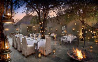 Courtyard-Dining-at-andBeyond-Ngala-Safari-Lodg