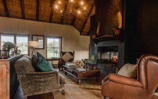 Hlosi-Game-Lodge-Xscape4u-Fireplace-In-Lounge-Amakhala-Game-Reserve
