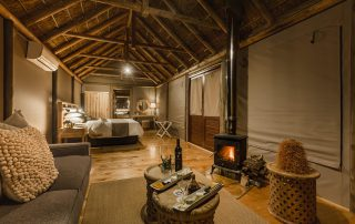Bukela-Game-Lodge-Romantic-Turndown-Luxury-Safari-Tent-Amakhala-Game-Reserve
