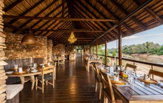 Pafuri-luxury-tented-camp-Xscape4u-Dining-Kruger-National-Park
