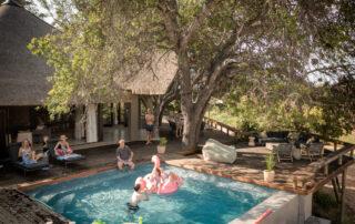 Tulela-Xscape4u-Pool-with-kids-Klaserie-Private-Nature-Reserve.